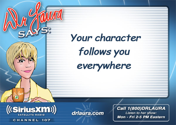 Your character follows you everywhere.