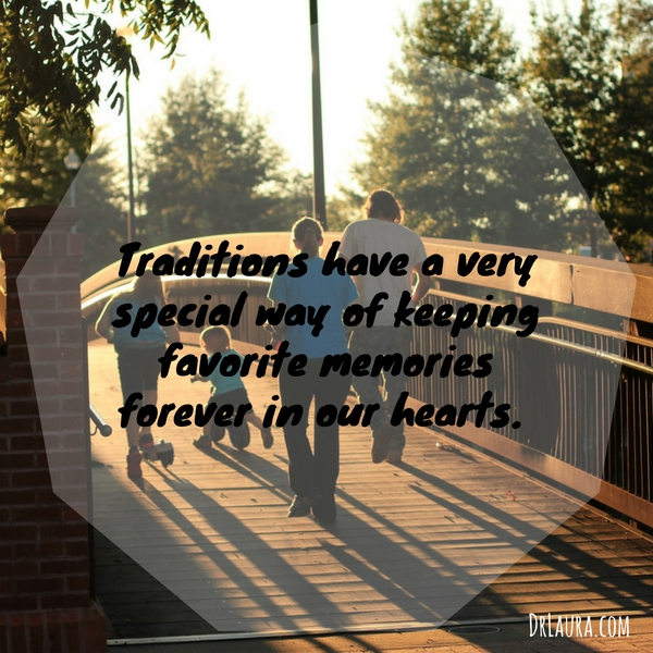 an introduction to the importance of traditions in family